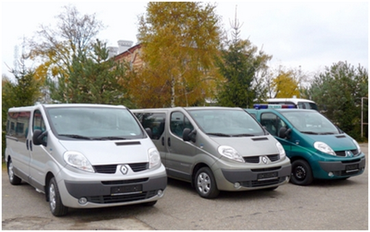 mikrobusy Renault Trafic